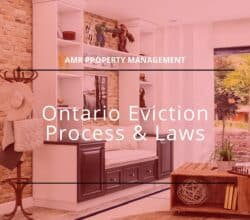 how to evict a tenant in ontario