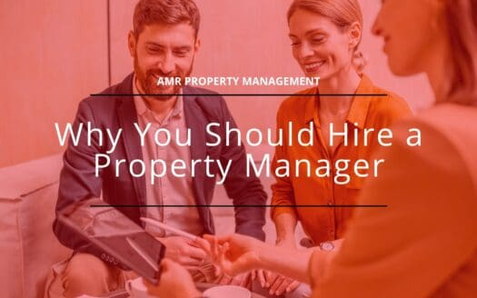 AMR why hire property managers